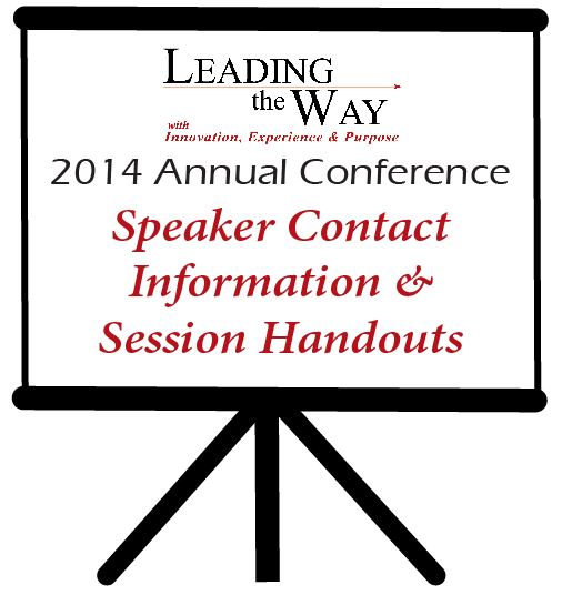 Speaker Information & Presentations Coming Soon!